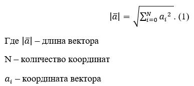 Направляющие косинусы вектора
